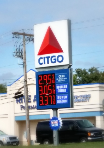 Finally under $3.00 a gallon here in NJ