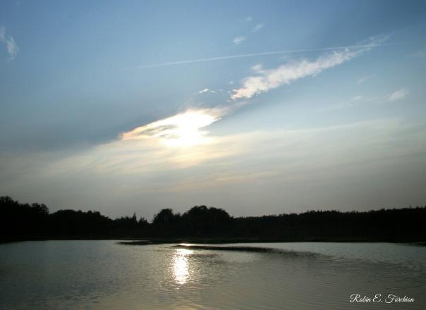 Sunset at New Brooklyn Lake