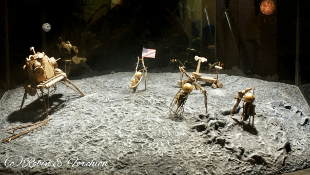Roaches on the moon