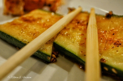 Zucchini I don not care for them but I did try it and it was ok.