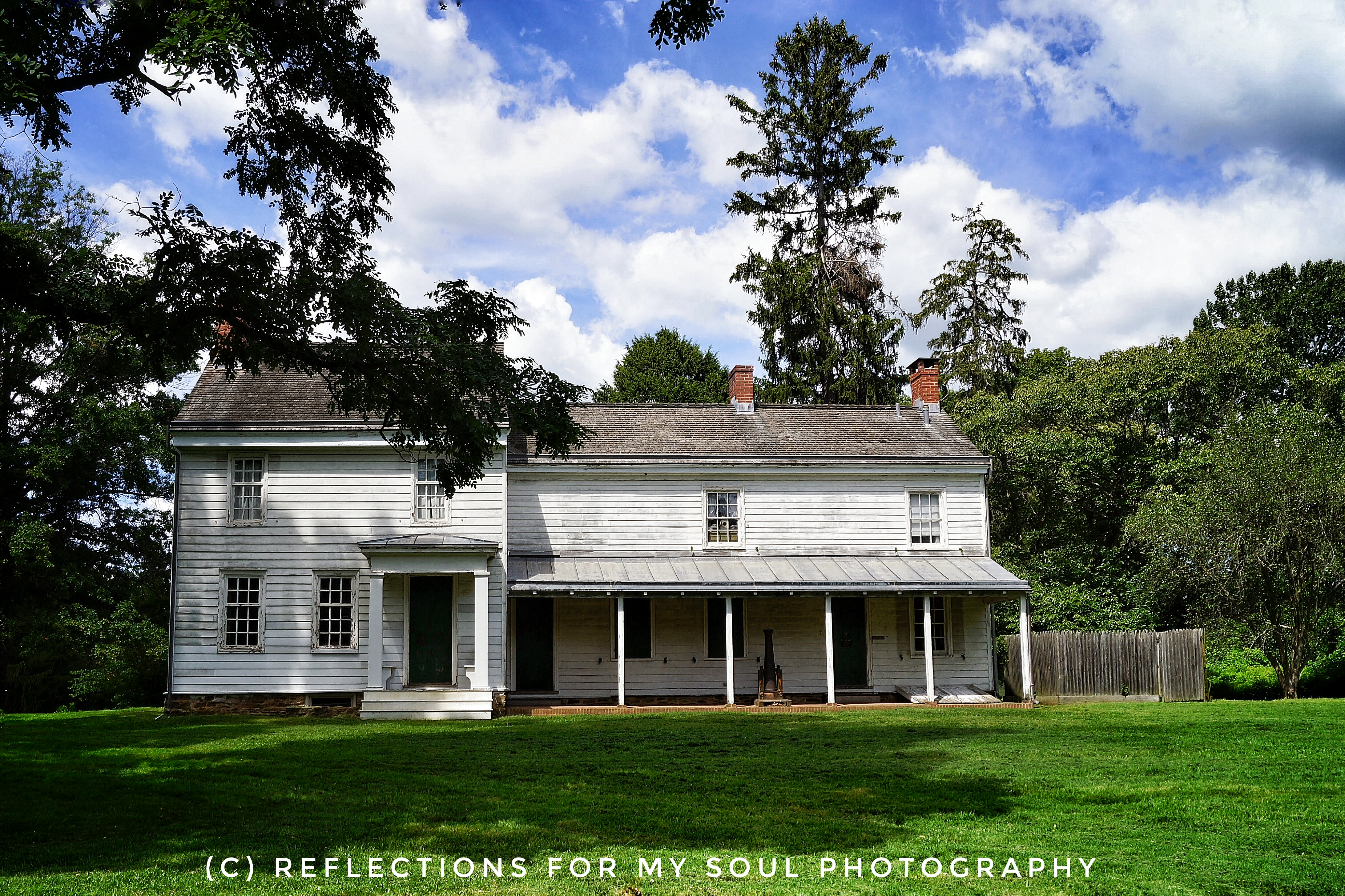 Clarke house princeton battlefield part 2 for The princeton house