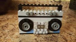 1980's boombox.